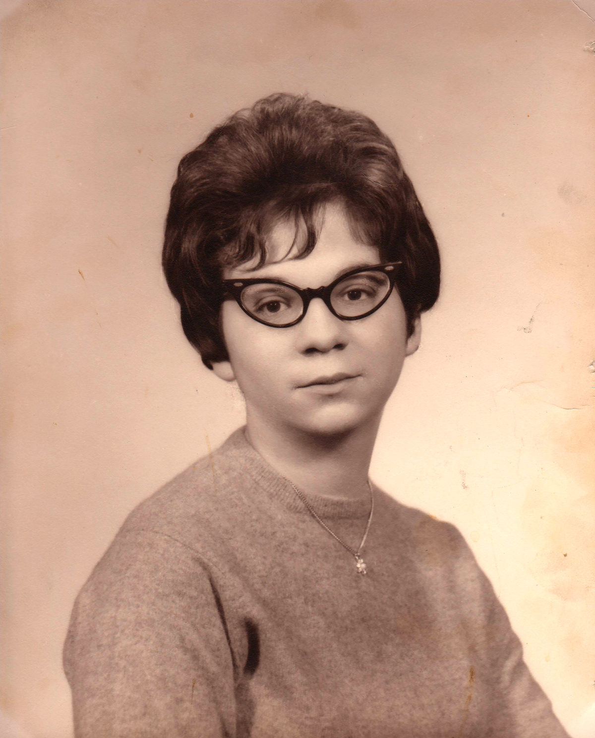 Nancy as a young adult.