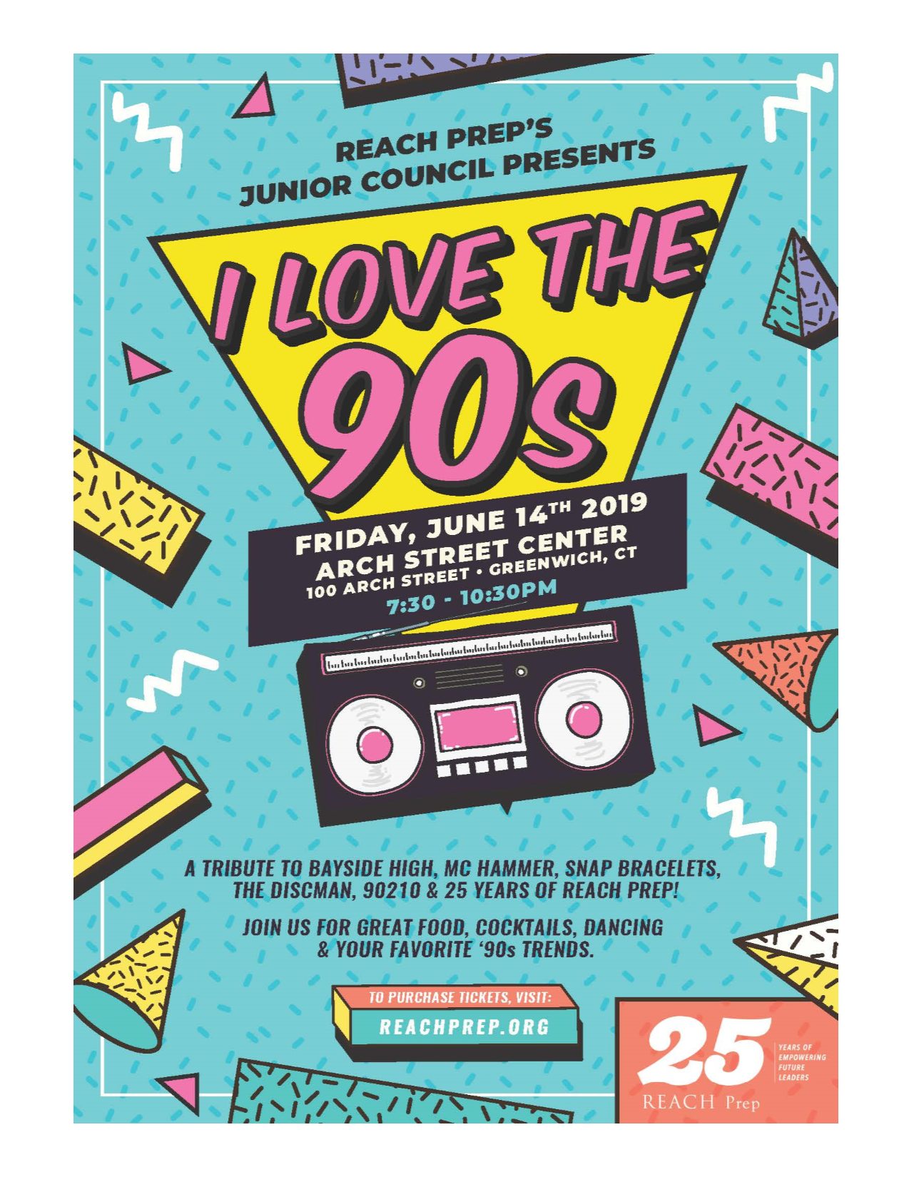 REACH Prep's Junior Council Presents - I Love the '90s!