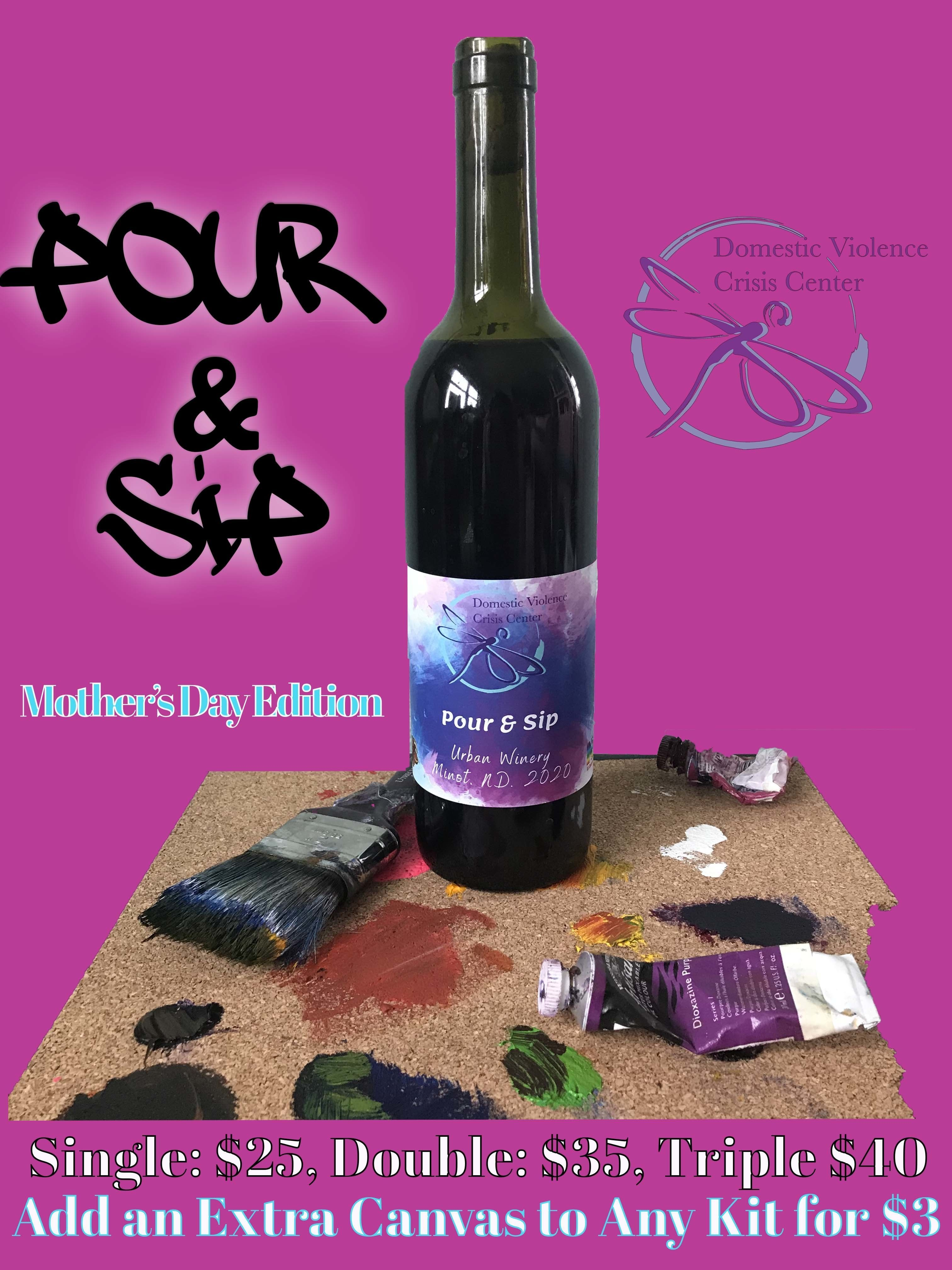 Pour & Sip Wine: Mother's Day Edition