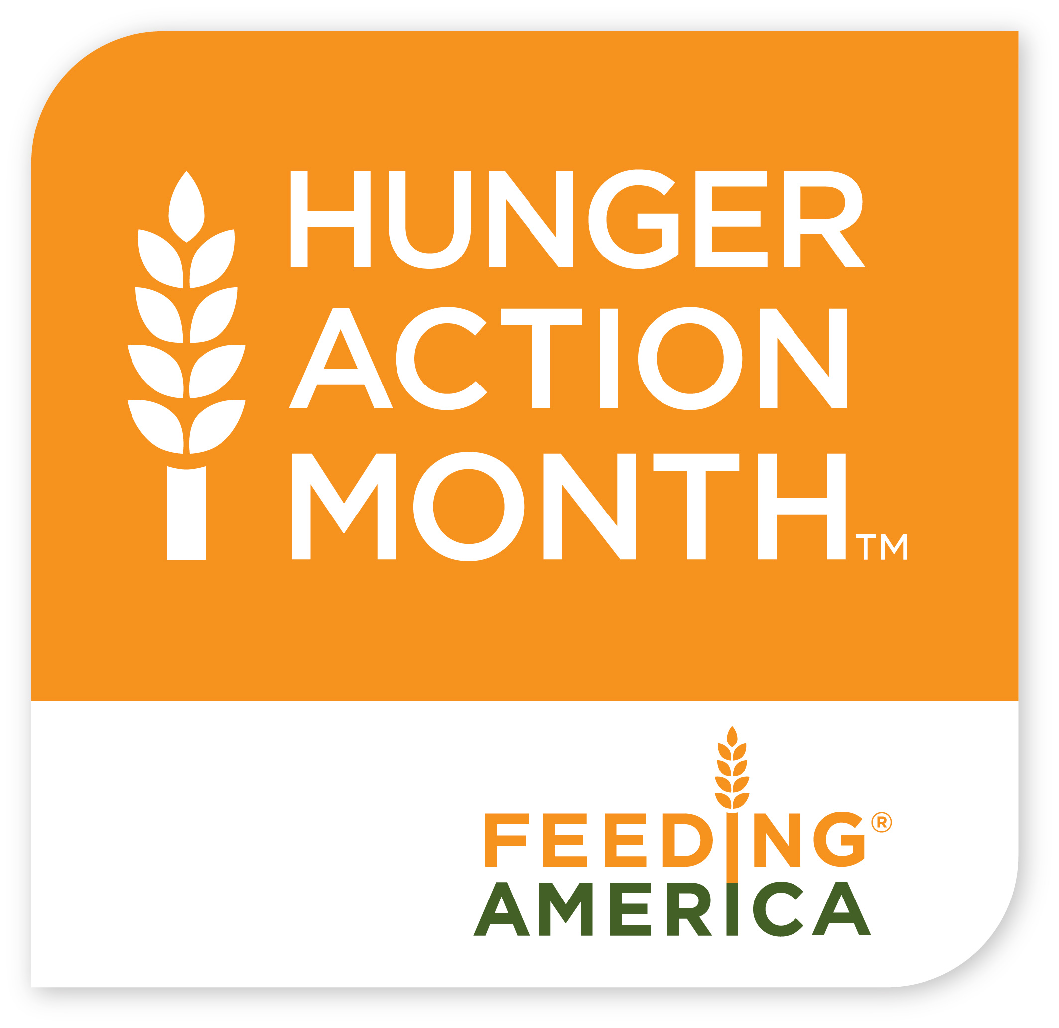 Hunger Action Month - Feeding America logo