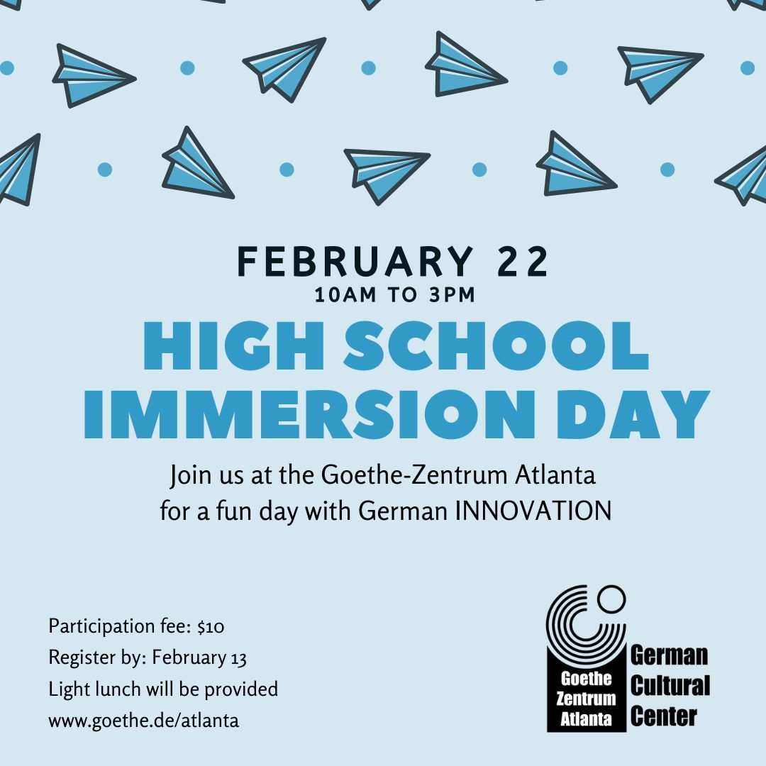 High School Immersion Day