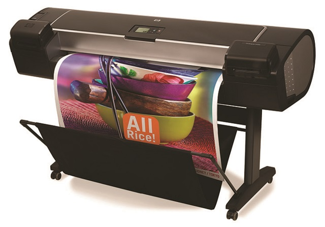 Large Format Poster Printing Equipment at Minuteman Press Poole