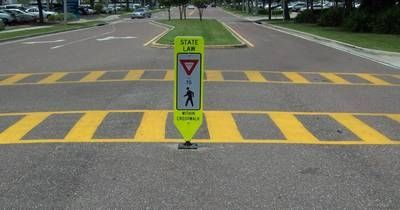 Traffic Safety Pedestrian Crossing