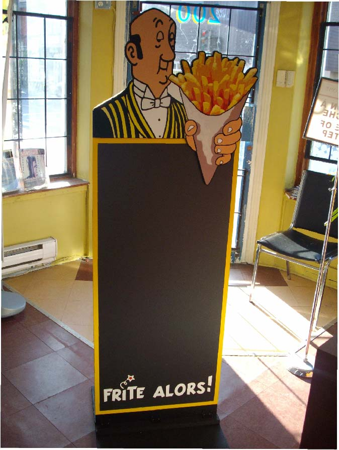 Custom made Sandwich Boards