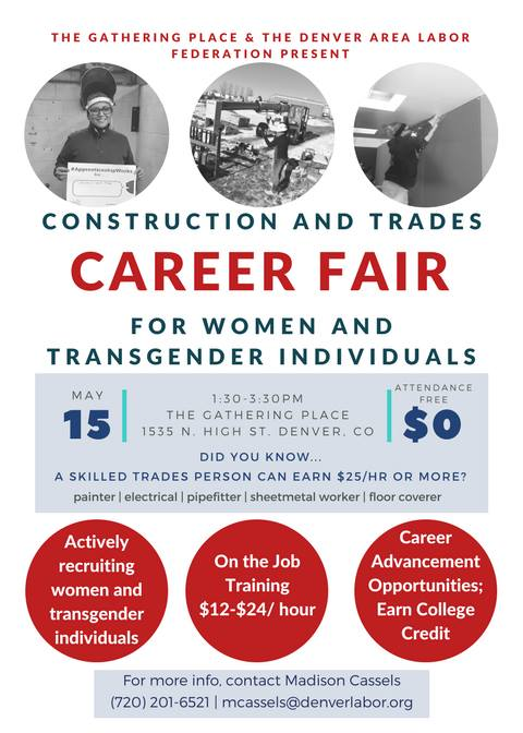 Trades Career Fair at The Gathering Place