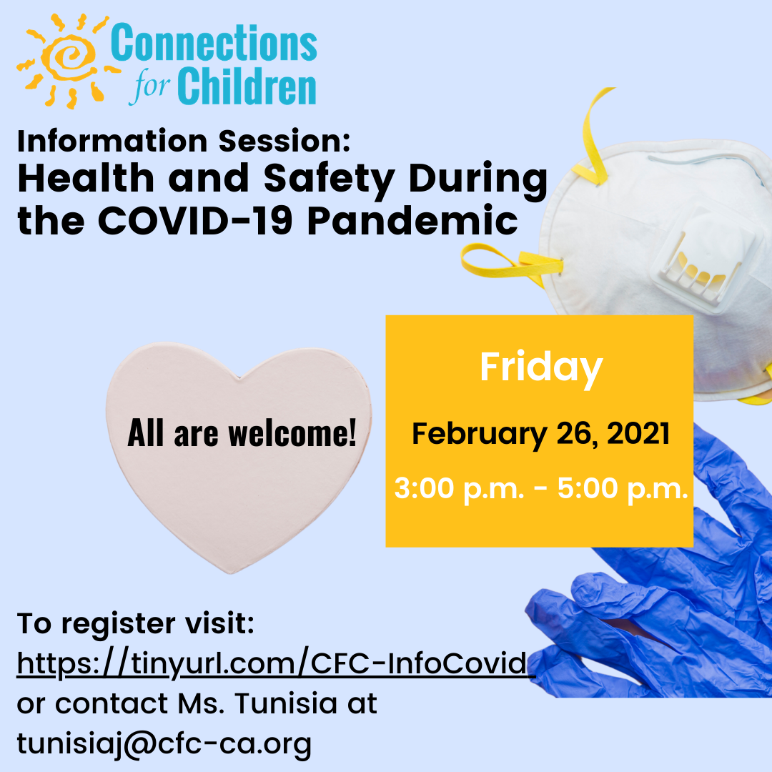 Information Session: Health and Safety During the COVID-19 Pandemic