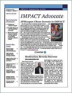 IMPACT Advocate~Winter 2013