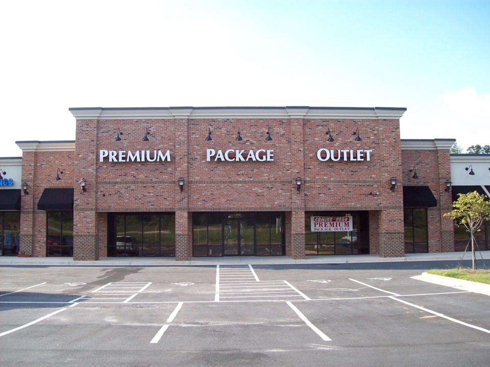 Dawsonville's Premium Package Channel Letters