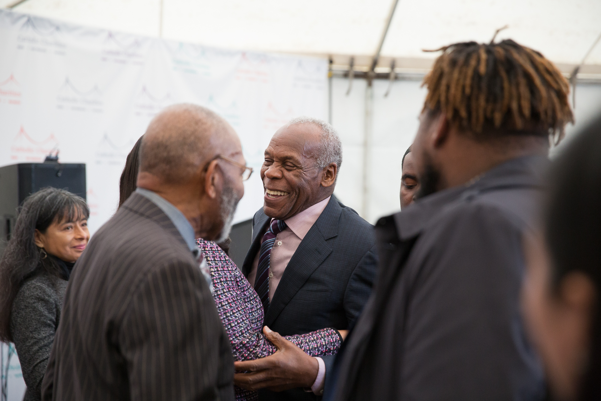 Danny Glover shared his experience growing up in the Bayview neighborhood and his vision for social justice and equality.