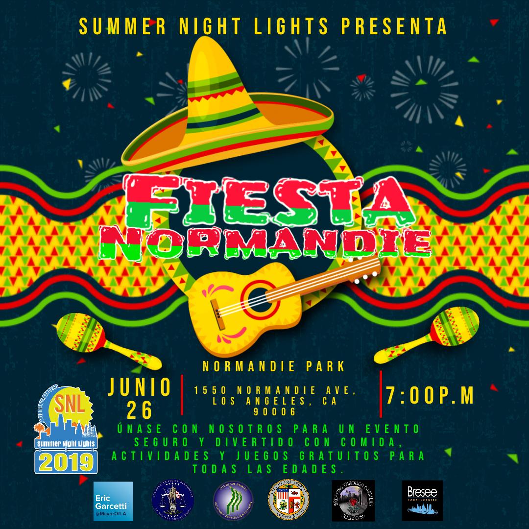 Summer Night Lights presents FIESTA NORMANDIE