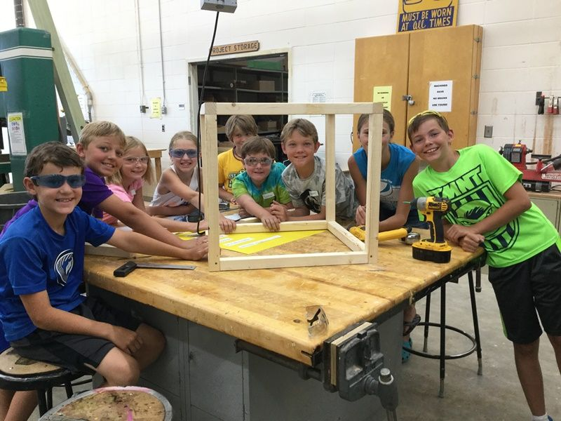 Maker Camp Inspires Local Youth to Create
