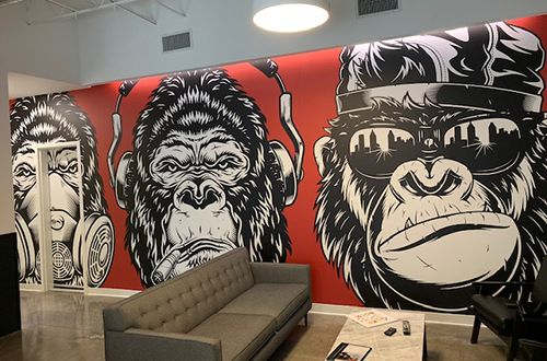Large Format Wall Wraps