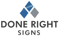 Done Right Signs