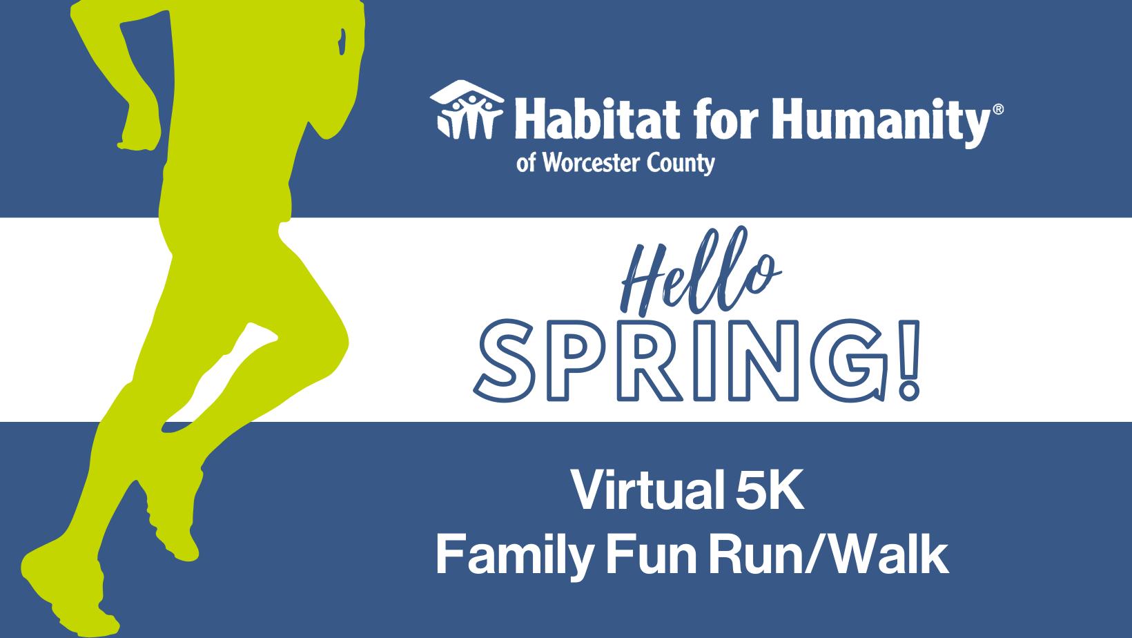 Hello Spring! Virtual 5K Family Fun Run/Walk