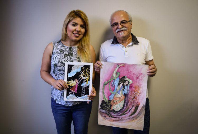 Celebrating Neighbors: Niusha and Akbar