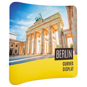 Berlin 'Stretch' Fabric Curved Display