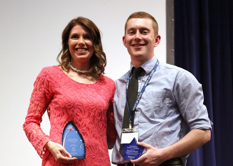Mother and Son Honored at Night of Stars