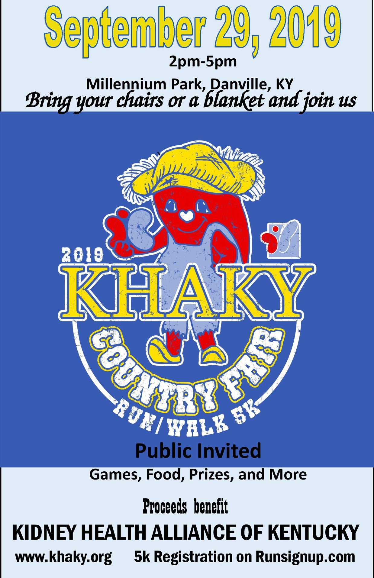 KHAKY Country Fair and 5K Danville