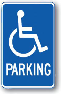 Handicap Parking-12 inch x 18 inch