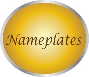 MP-3020 - Carved Plaques of Nameplates