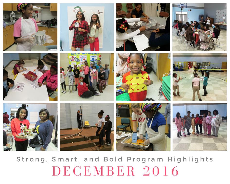 December 2016 Highlights