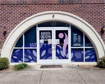 Augusta OBGYN Window Vinyl