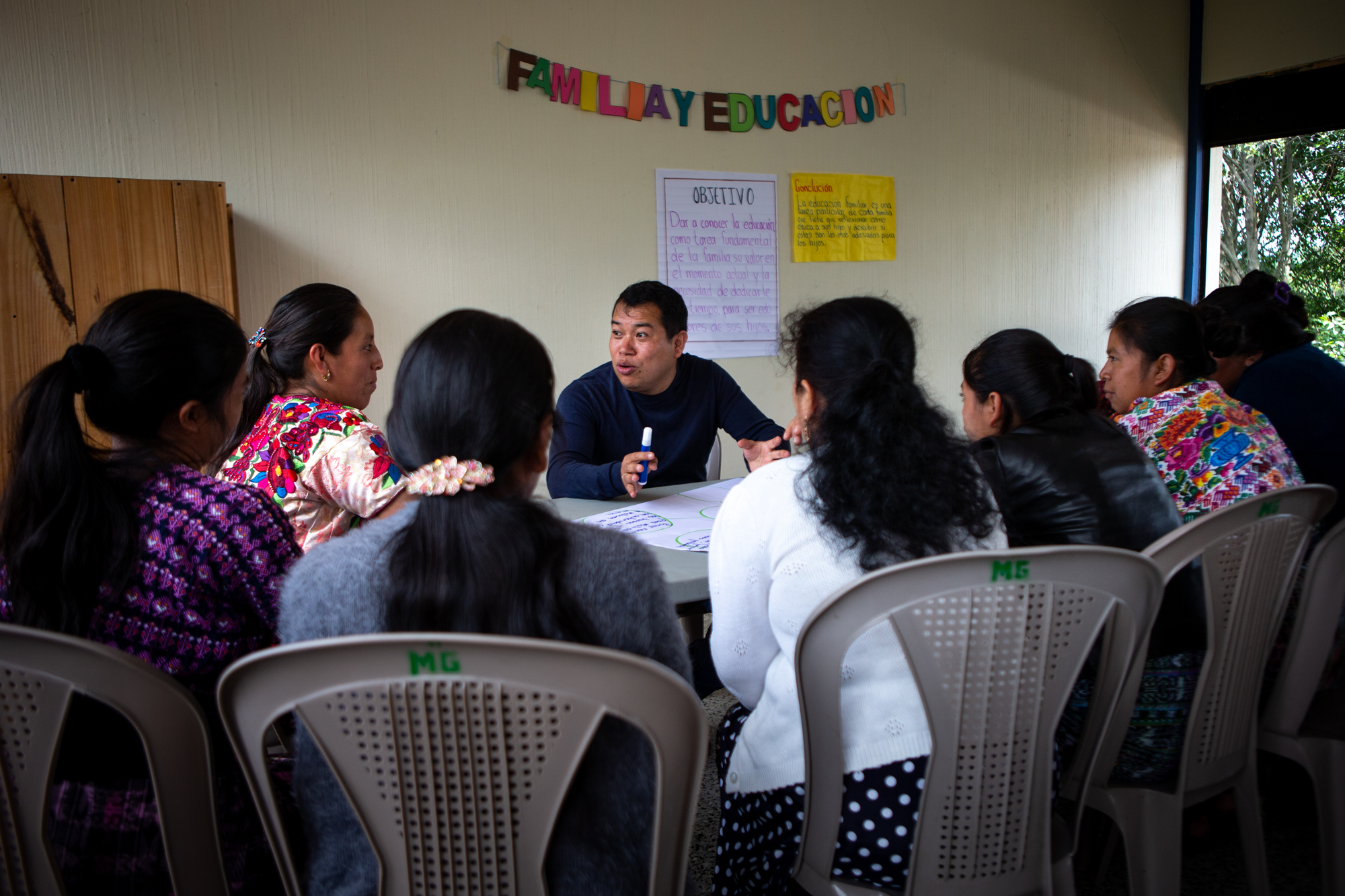 "Family & Education - A ""Becas Con Misión"" Workshop for Parents."