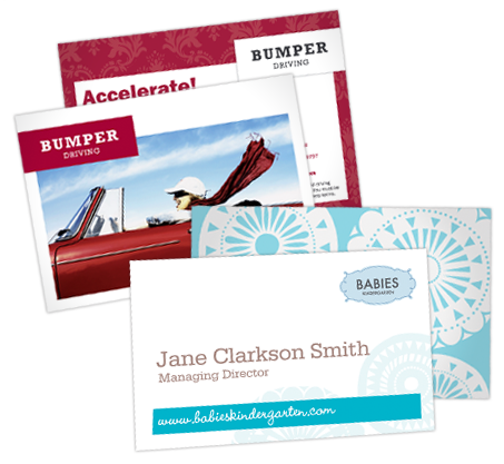Letterheads, Envelopes and Business Cards