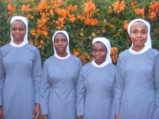 New Novices Accepted in Ndanda