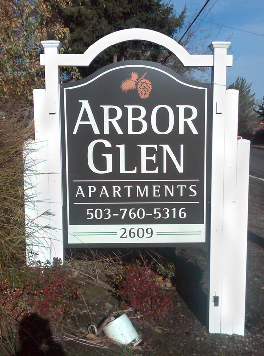 Arbor Glen Moument Sign