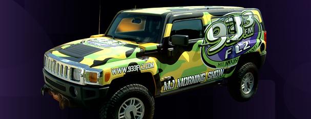 Vehicle Graphics - SUV