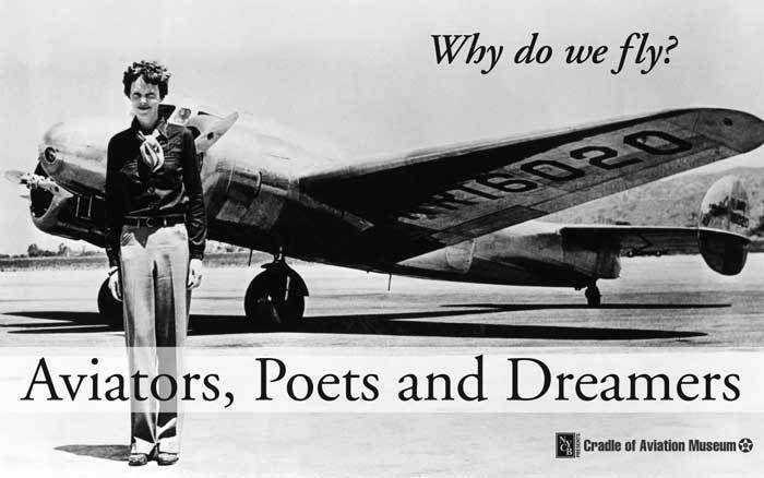 Aviators, Poets and Dreamers Exhibit