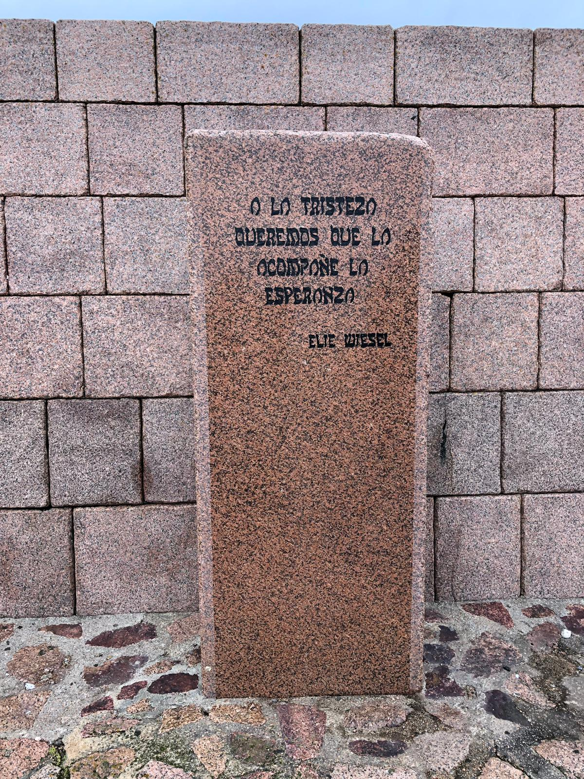 Elie Wiesel Quote Stone