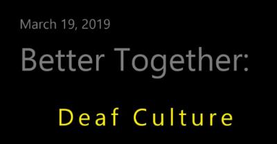 Video: Deaf Culture (English)