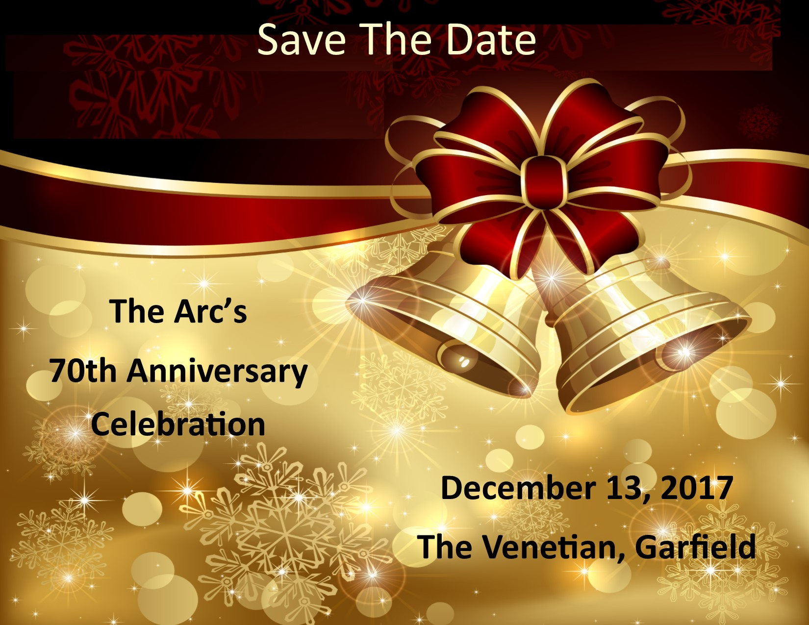 70th Anniversary Celebration/ Holiday Dinner