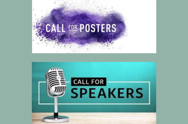 We need posters and speakers!