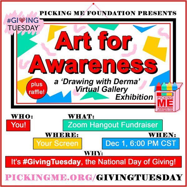 #GivingTuesday Art for Awareness