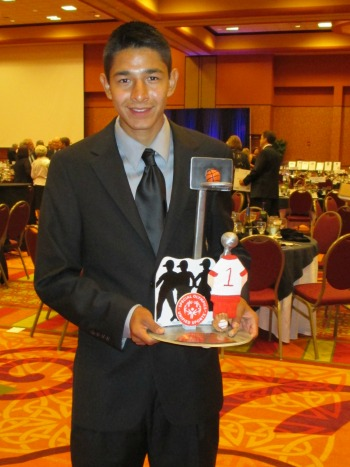 Steven Juarez Recognized at 2013 Youth Award Winner