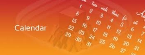 Calendar MASTHEAD
