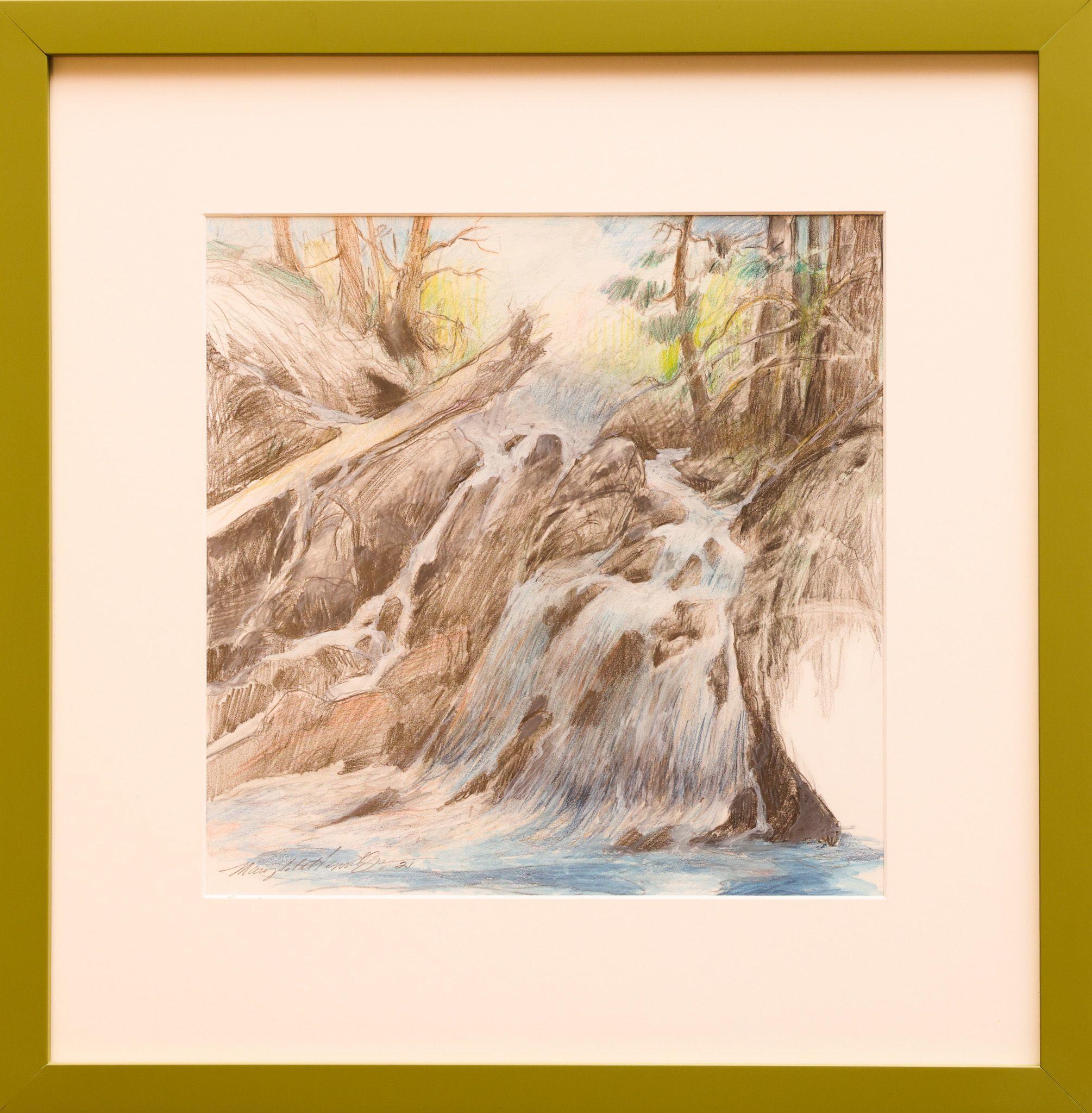 """Cleveland Peninsula Creek"" Mary Ida Henrikson"
