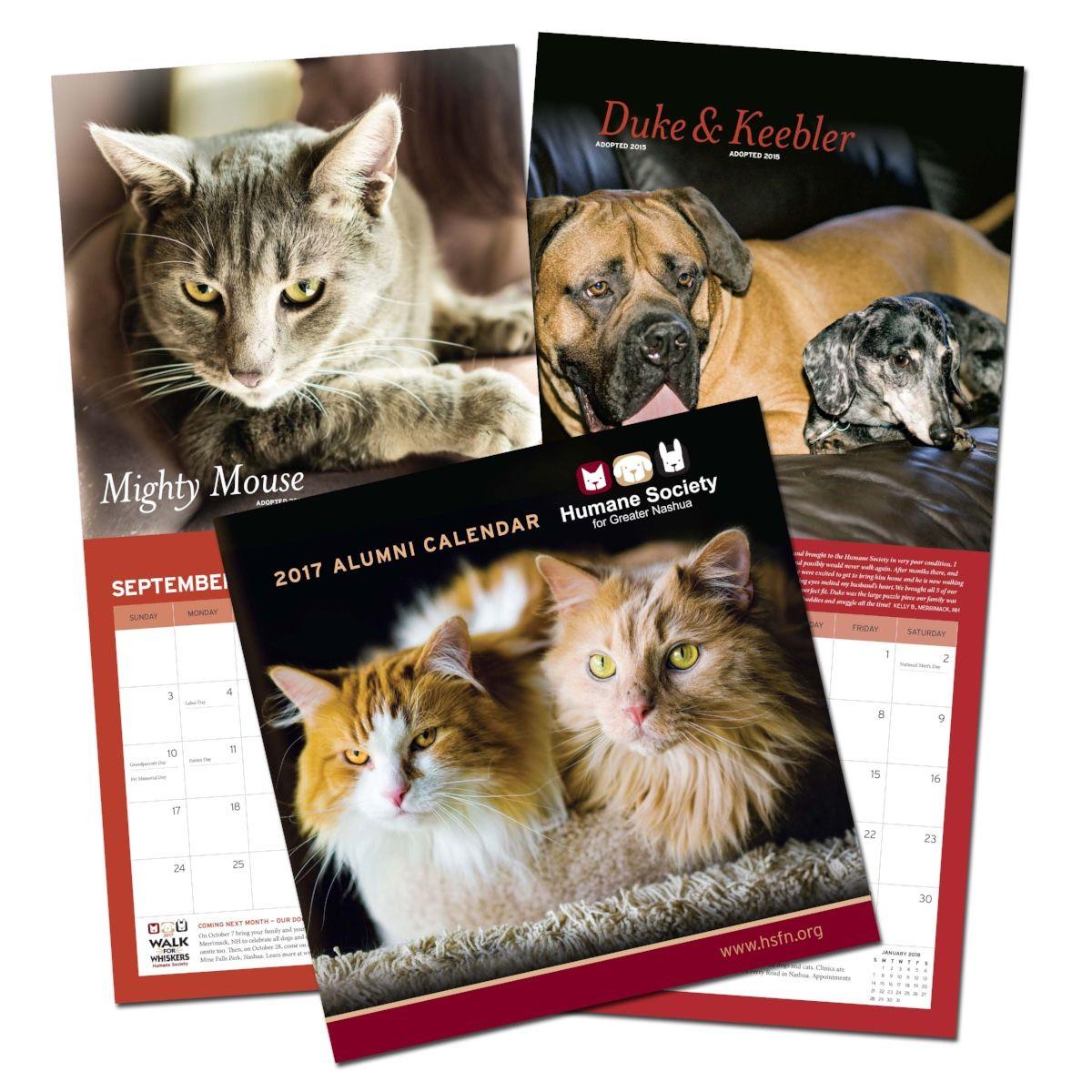 Humane Society of Greater Nashua Calendar