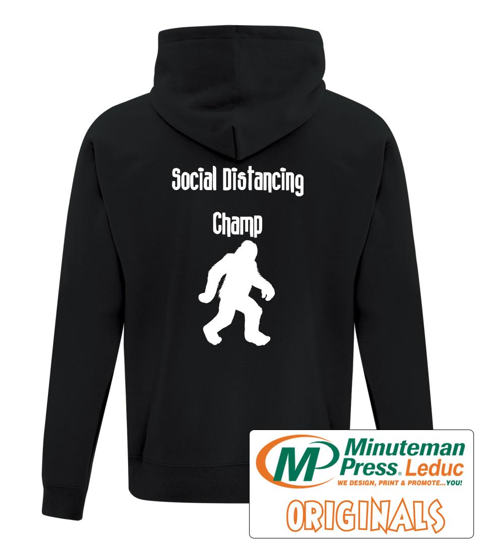 Social distancing champ Hoodie