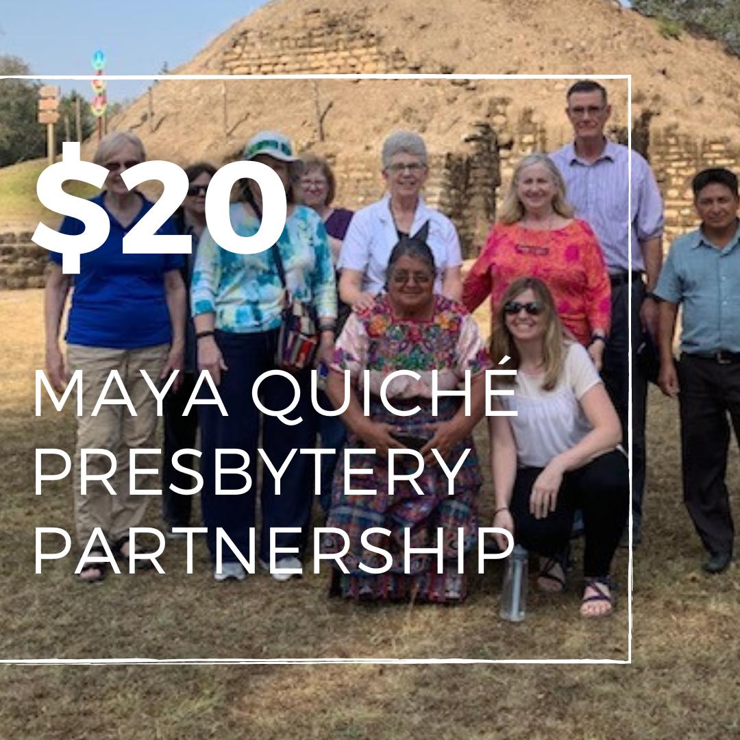 Maya Quiché Presbytery Partnership