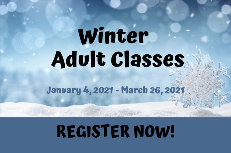 Register Now for Winter Classes!