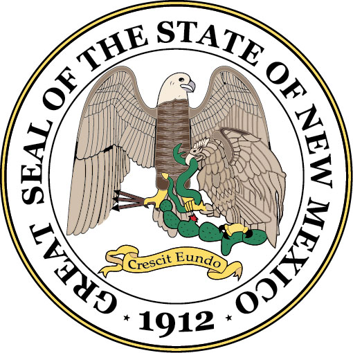 W32360 - Seal of the State of New Mexico Wall Plaque (Version 2)