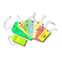 Paper String Tags
