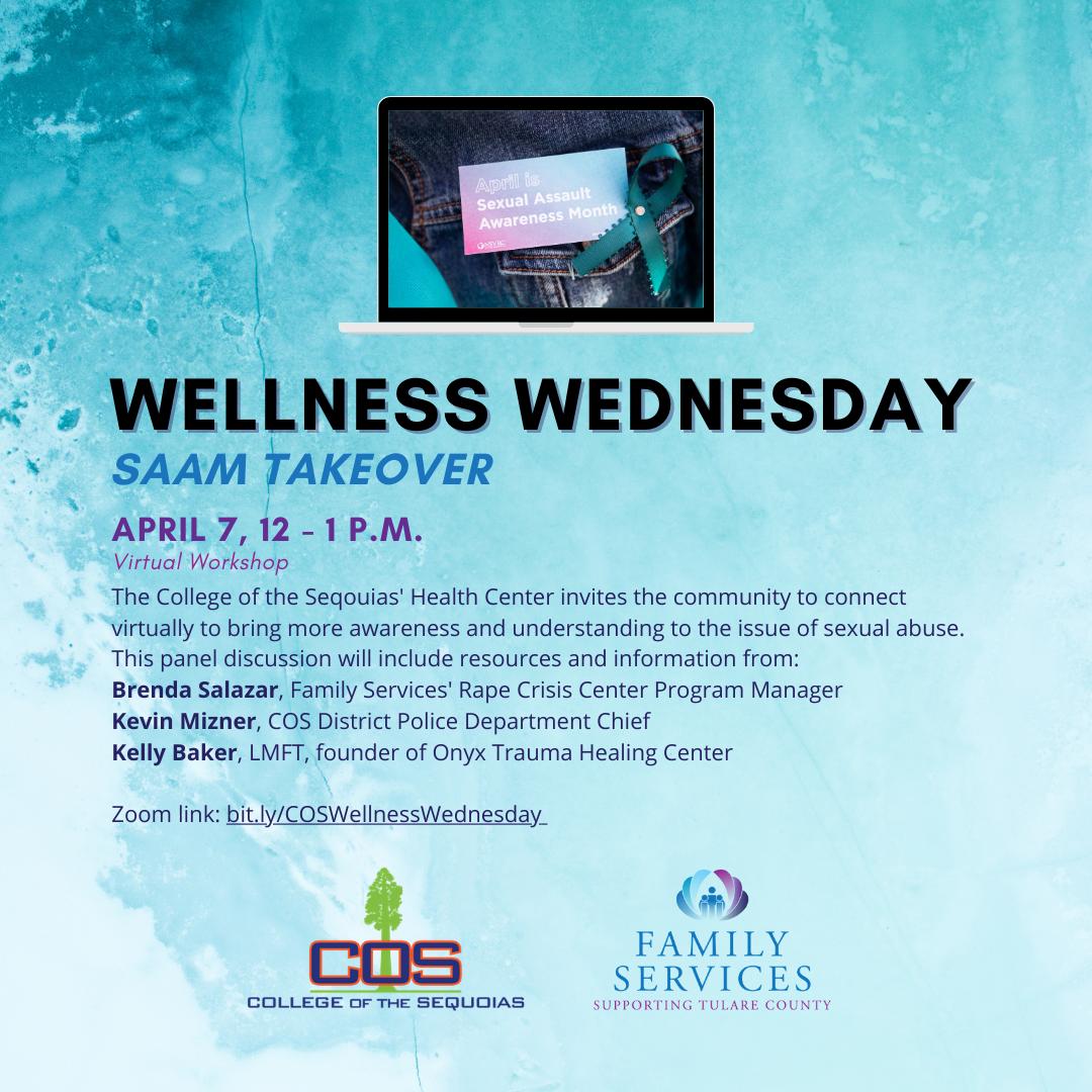 Wellness Wednesday: SAAM Takeover