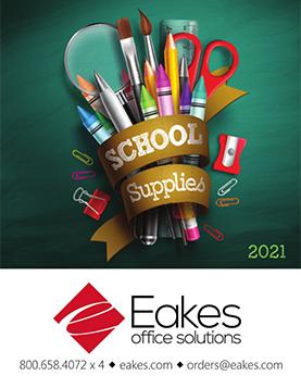 Eakes School Supply Catalog Cover