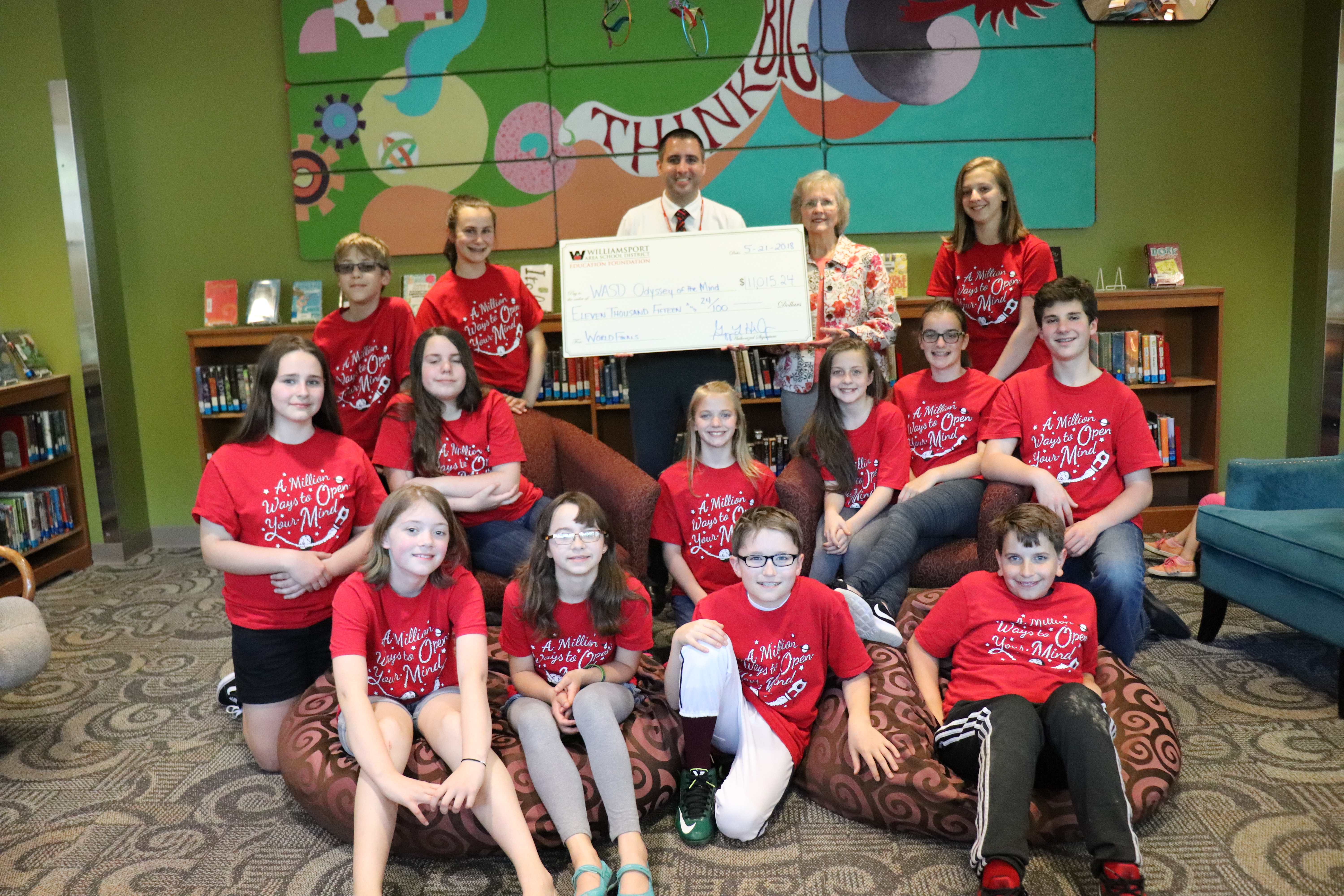 WASDEF Grants $11,015 to Odyssey of the Mind Teams