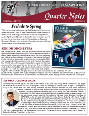 March 2018 Quarter Notes
